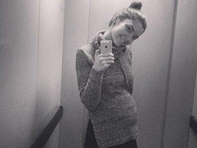 Жена погибшего рэпера Ларсона беременна