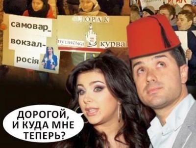 Муж Ани Лорак может запретить ей выступать в России