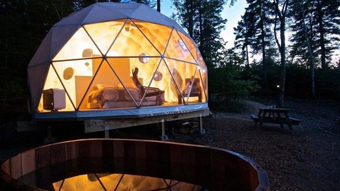 Назван топ-10 отелей для любителей природы
