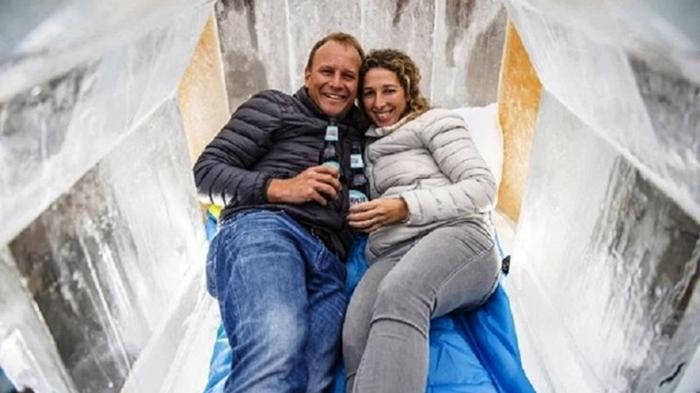 В Британии построили отель из замороженного пива