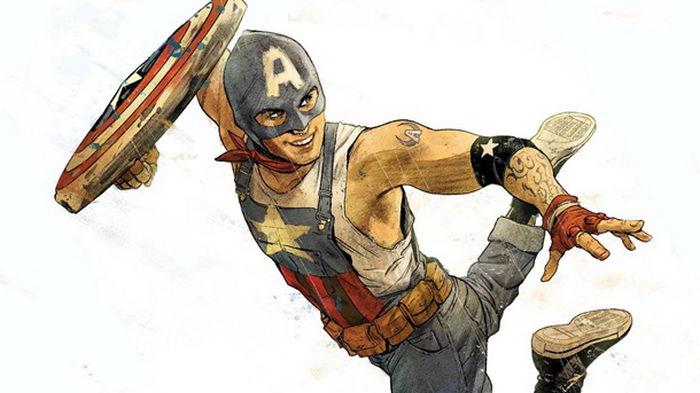 Marvel создала нового Капитана Америку (фото)