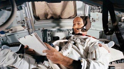 Умер участник первой миссии на Луну Майкл Коллинз