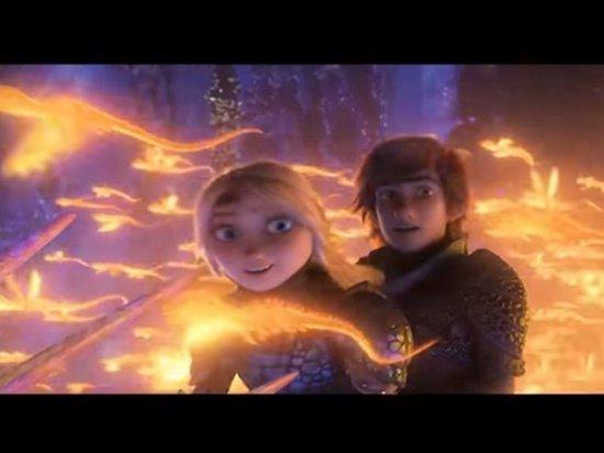 Опубликован трейлер мультфильма «Как приручить дракона 3»