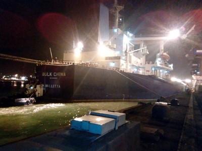 В Украину прибыл третий корабль с углем из ЮАР