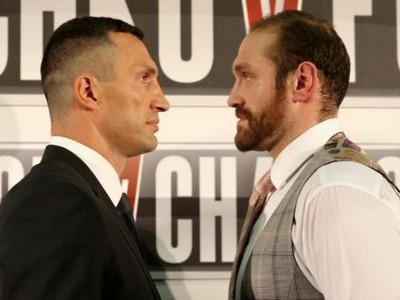 Фьюри откажется от чемпионского пояса ради реванша с Кличко