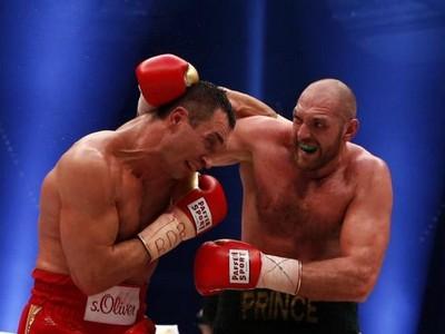 Подписан контракт на бой-реванш между Кличко и Фьюри