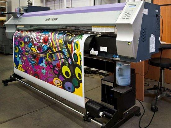 Что такое широкоформатная печать и её разновидности