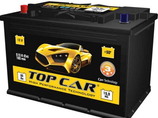 Автомобильные аккумуляторы Top Car — лучший выбор для украинского потребителя