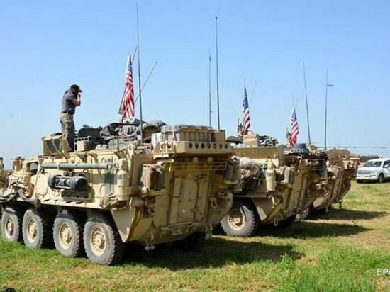 США вывозят из Сирии военную технику