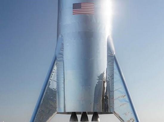 Илон Маск показал реальное фото нового космического корабля Starship