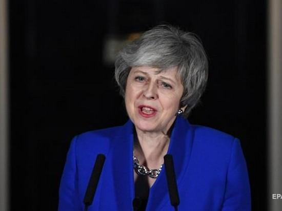 Тереза Мэй призвала все партии Британии к объединению