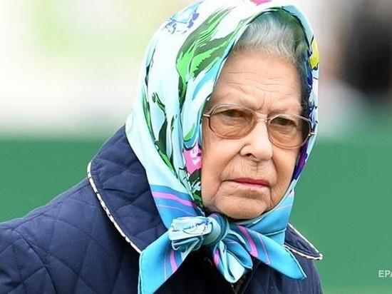 Королева Великобритании нарушила ПДД за рулем