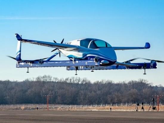 Boeing провел испытания своего «летающего такси»