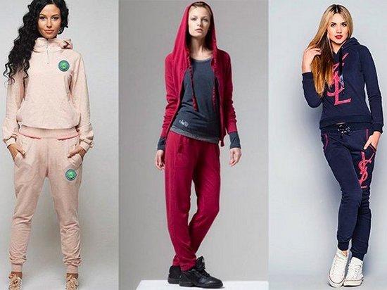 Какие женские спортивные костюмы сейчас в моде