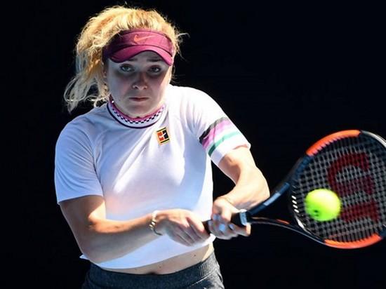 Свитолина не сумела пробиться в полуфинал Australian Open