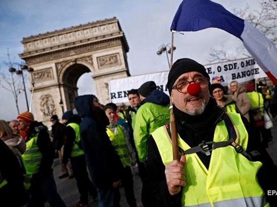 Во Франции началась новая волна протестов