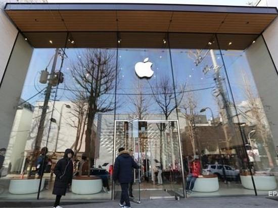 Впервые за 10 лет у компании Apple прибыль и выручка снизились