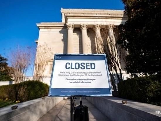 Экономика США потеряла $6 миллиардов из-за шатдауна
