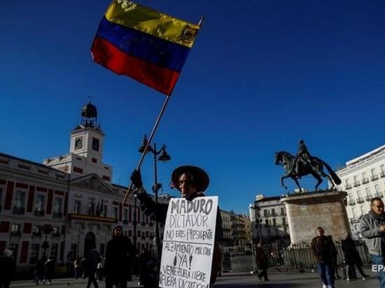 В Венесуэле отреагировали на ультиматум стран ЕС