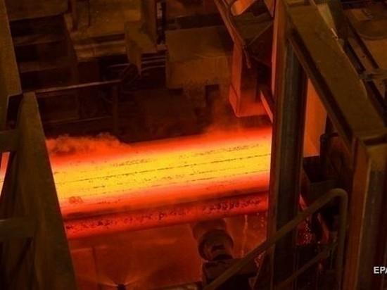 В Украине продолжает падать производство стали