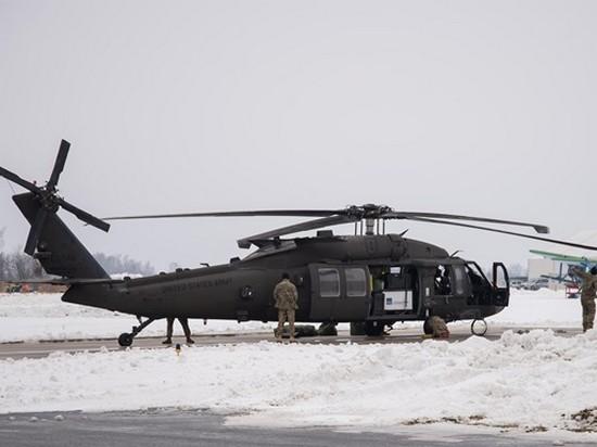 CША перебросили боевые вертолеты в Латвию