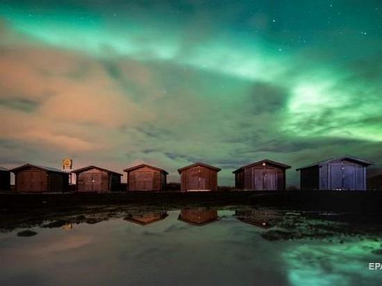 В Лапландии сняли красочное северное сияние (видео)