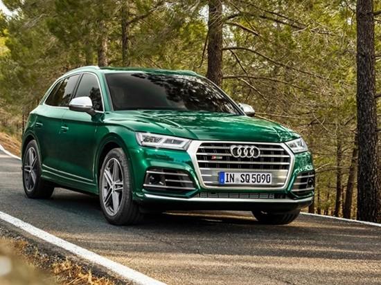 Audi показала дизельный кроссовер SQ5 (фото)