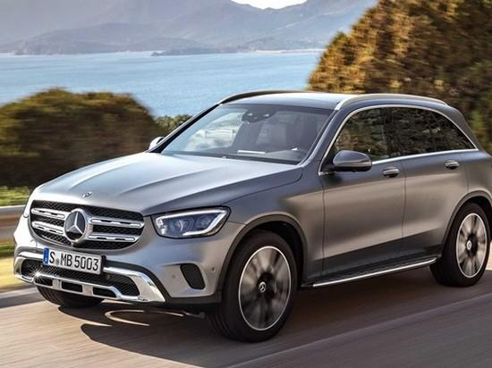 Представлен новый кроссовер Mercedes-Benz GLC
