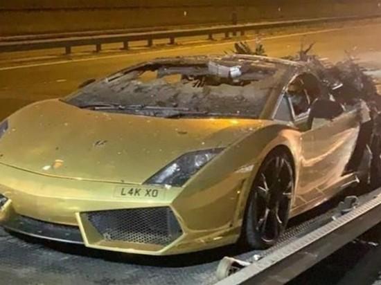 Lamborghini сгорел после обслуживания на $14 тысяч
