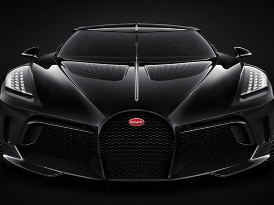 Bugatti показала самый дорогой в мире гиперкар