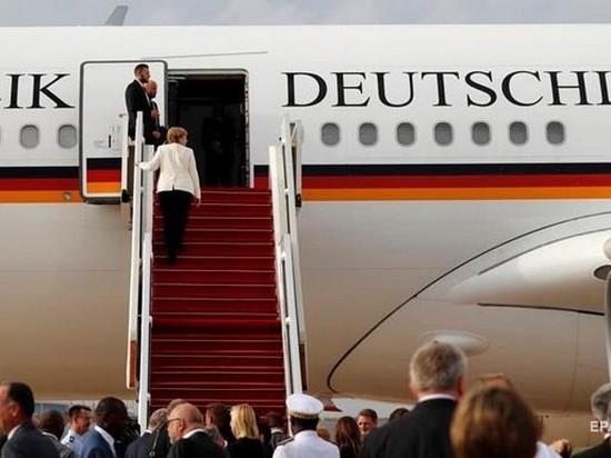 Немецкие министры будут летать рейсовыми самолетами — СМИ