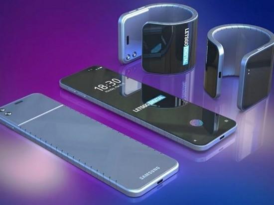 Компания Samsung разрабатывает гибкий смартфон-браслет