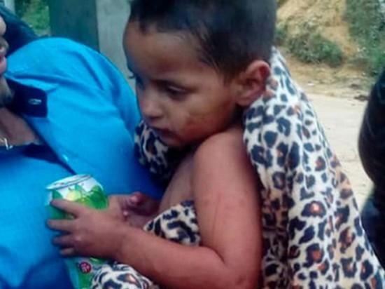 Двухлетний ребенок прожил 5 дней в горах без еды и воды