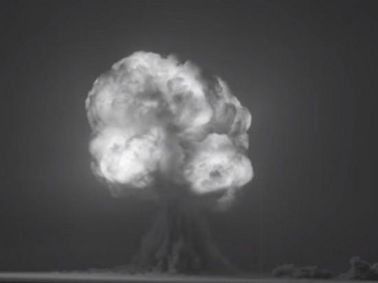 Видео первого ядерного взрыва отреставрировали