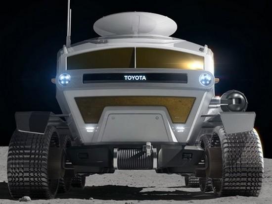 Toyota показала концепт «автомобиля» для Луны (видео)