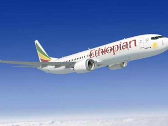 В Эфиопии разбился пассажирский самолет