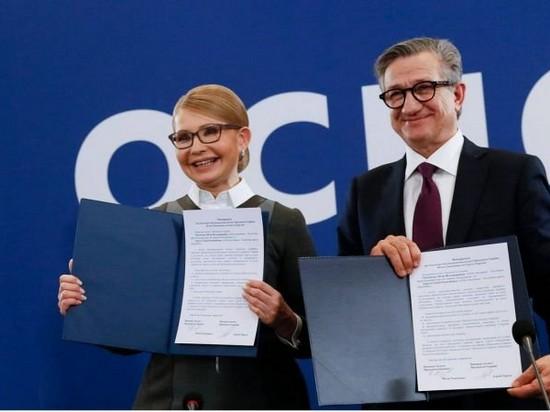 Тарута поддержал Тимошенко на выборах президента