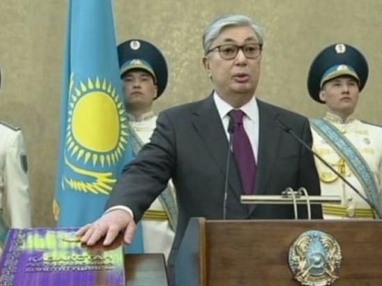 Преемник Назарбаева: Токаев вступил в должность президента Казахстана