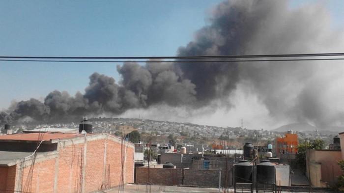 В Мексике взорвался рынок пиротехники