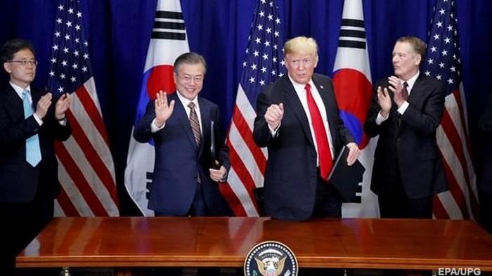 Трамп встретится с президентом Южной Кореи