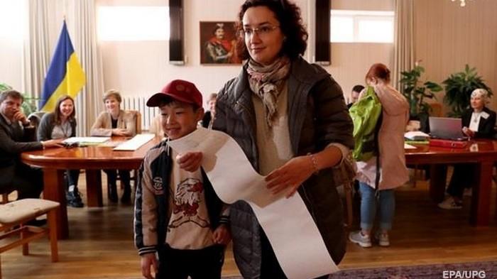 Обнародованы результаты выборов на заграничных участках