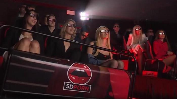 В Амстердаме открыли 5D-кинотеатр с порнофильмами (видео)