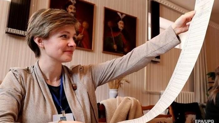 ЦИК подвела итоги первого тура выборов президента