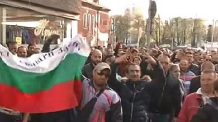 В Болгарии протестуют против цыган: произошли стычки (видео)