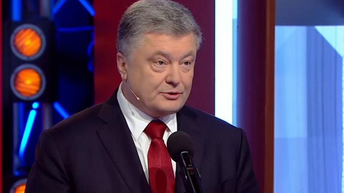 Порошенко и Зеленский поссорились в прямом эфире