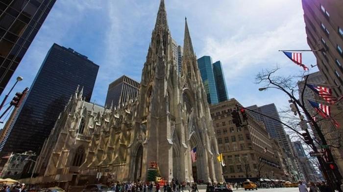 В Нью-Йорке мужчина пытался сжечь собор