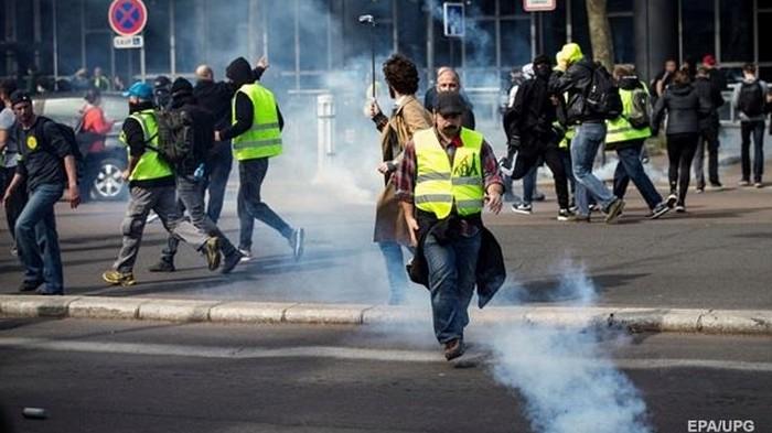 Протесты в Париже: задержаны 120 человек