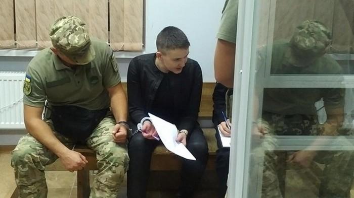 Надежда Савченко и Владимир Рубан вышли на свободу