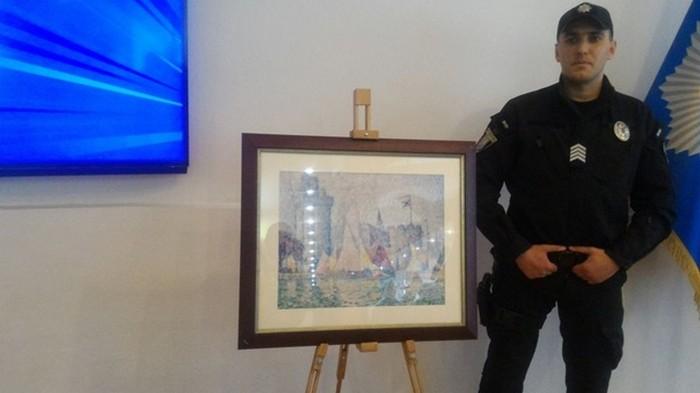 Украинская полиция вернула Франции похищенную картину стоимостью $1,5 млн
