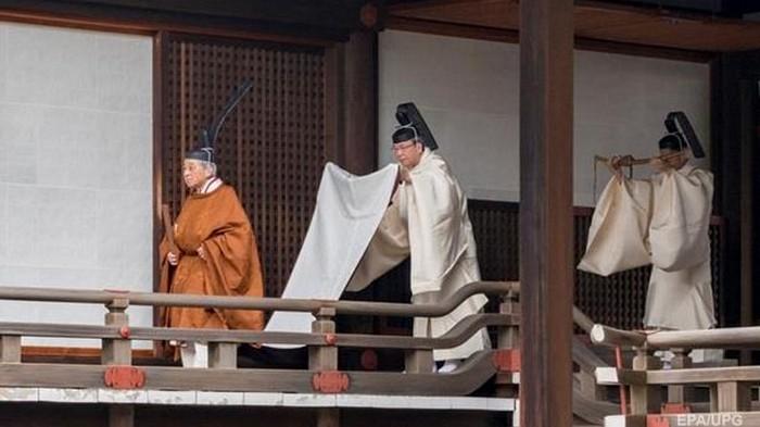 В Японии начался ритуал отречения императора от престола